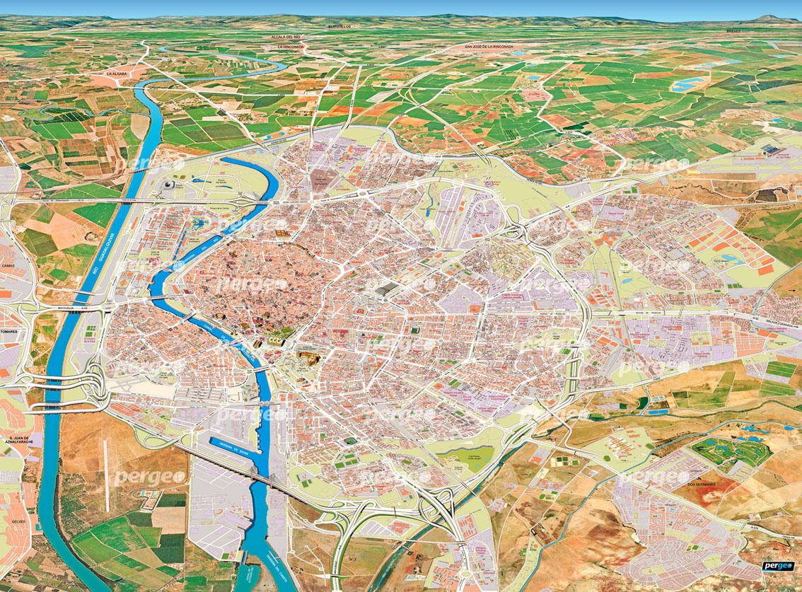 Callejero-pasarela-Sevilla