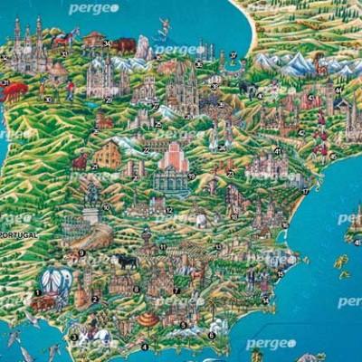 Mapa Artístico de España