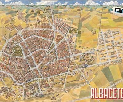 Plano Histórico de Albacete 1991
