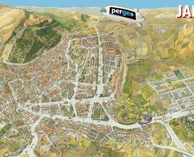 Plano Histórico de Jaén 1988