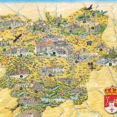Mapa Artístico Provincia de Albacete