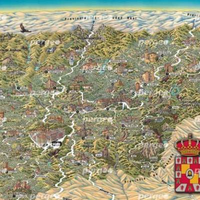 Mapa Artístico Provincia de Jaén