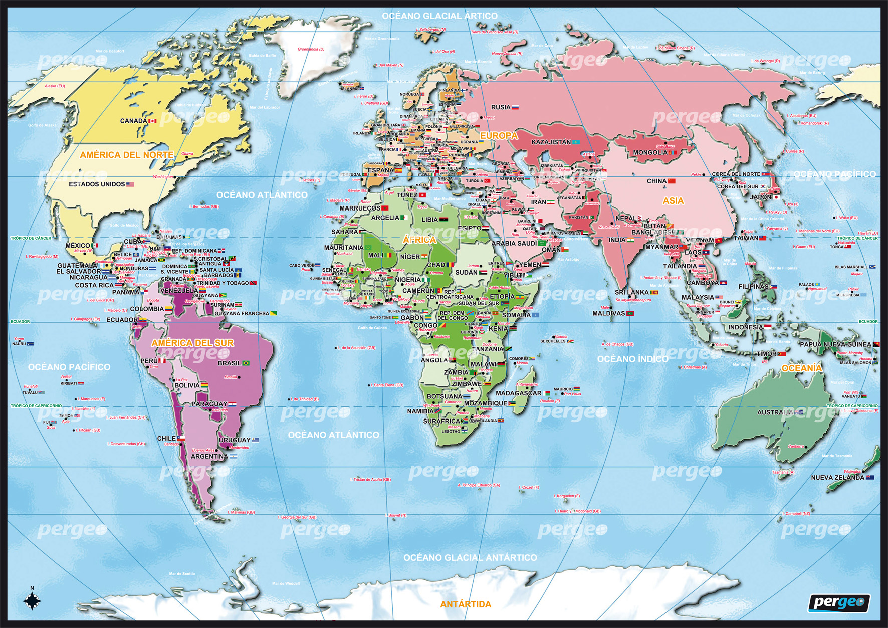 Earth Physical Map ... Mundi – World Ma...