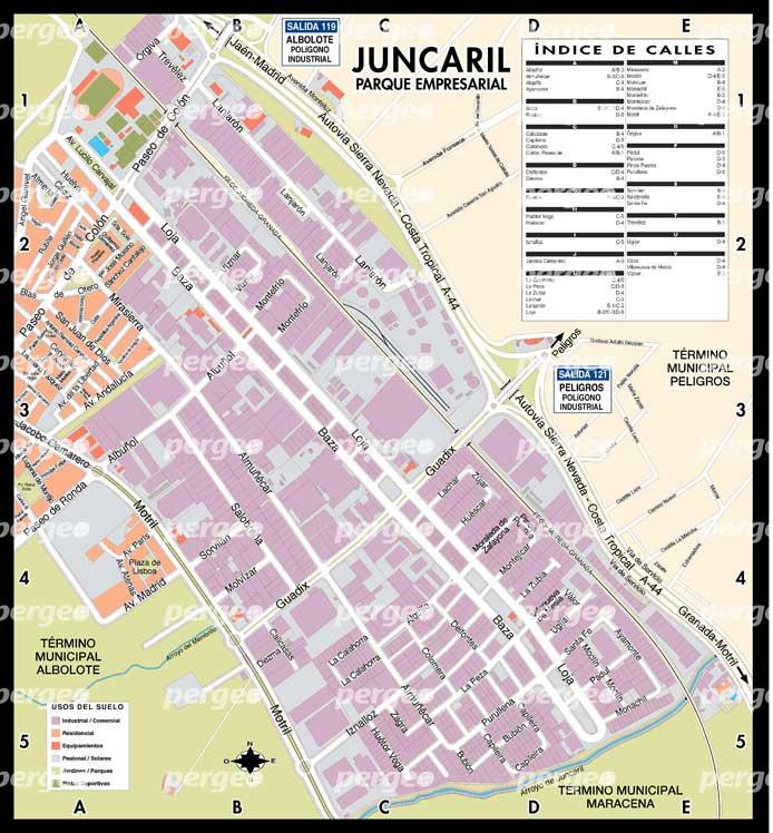 plano-mapa-poligono-juncaril-granada